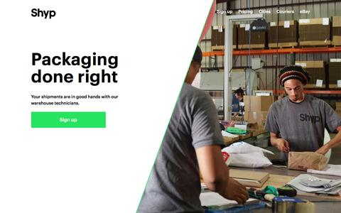 Professional Packaging, Custom Boxes, & Packing Technicians | Shyp