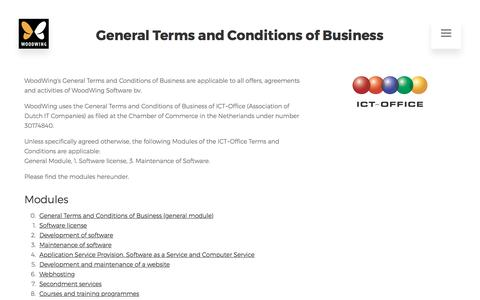 General Terms and Conditions of Business | WoodWing Software