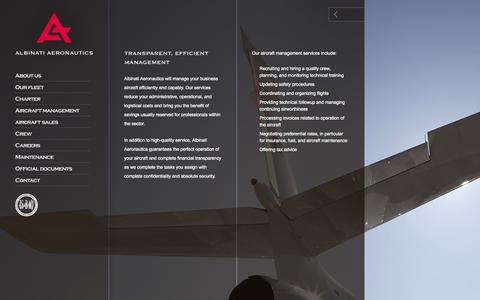 Screenshot of Team Page albinati.aero - Albinati Aeronautics S.A. - Professional Aviation Solutions - captured Oct. 4, 2014