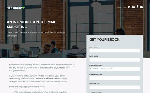 Introduction to Email Marketing | New Breed