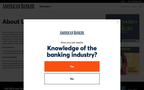 AB Footer - About Us  | American Banker