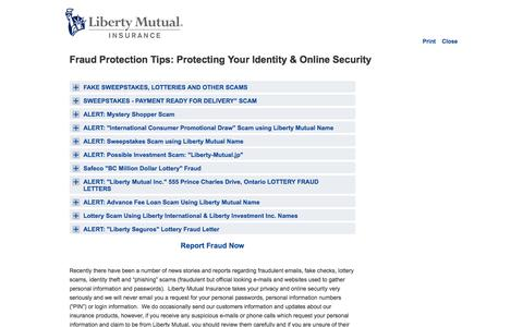 Fraud Protection Tips