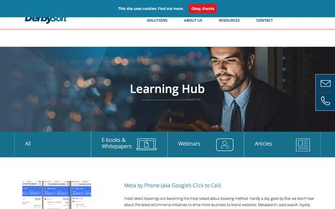 Learning Hub Archives - DerbySoft