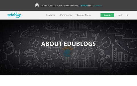 Screenshot of About Page edublogs.org - Who's behind the scenes at Edublogs? – Edublogs – free blogs for education - captured Oct. 21, 2015