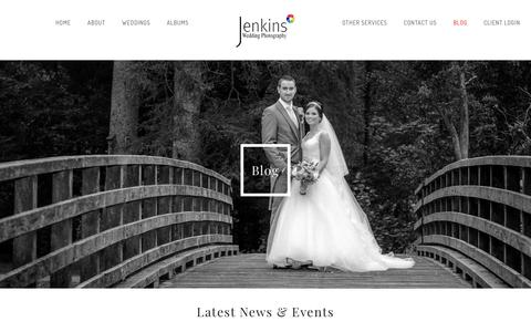 Screenshot of Blog jenkins-photography.co.uk - Blog - Jenkins Photography - captured Sept. 20, 2018