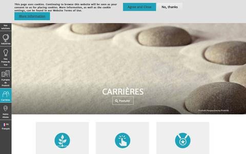 Screenshot of Jobs Page protiviti.com - Carrières | Protiviti - France - captured Dec. 3, 2019