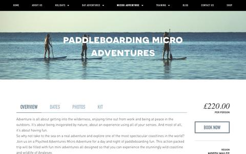 Paddleboarding micro adventures — Psyched Adventures