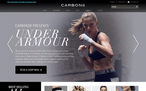 Screenshot of Login Page carbon38.com - Carbon38 - captured Oct. 22, 2014