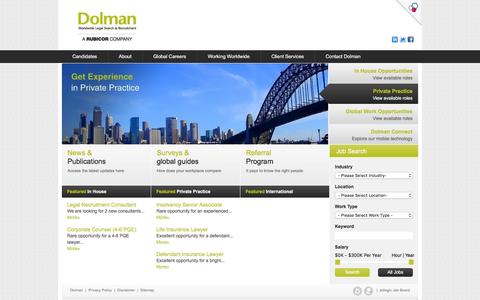 Home - Legal Recruitment Sydney,  Legal Recruitment Companies, Jobs In Legal - Dolman