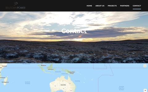 Screenshot of Contact Page belltownpower.com - Contact Us | Belltown Power - captured Aug. 1, 2018