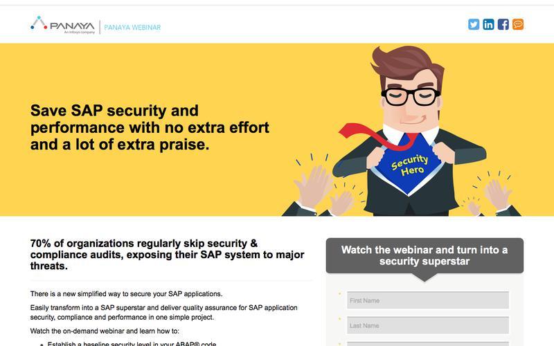 Secure your SAP applications – Panaya