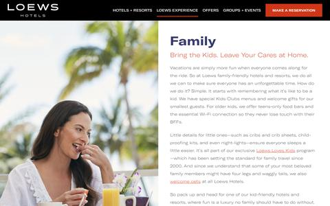 Family Resort and Hotels | Loews Hotel and Resorts
