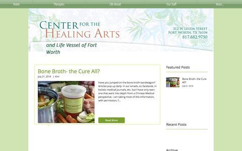 Screenshot of Blog centerforthehealingarts.net - cftha | Blog - captured May 15, 2017