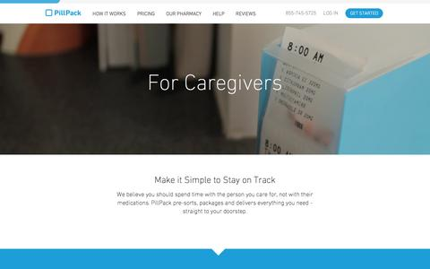 Caregivers - PillPack