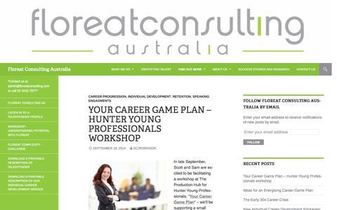 Screenshot of Blog floreatconsultingaustralia.com.au - Blog | Floreat Consulting Australia | *Contact us at admin@floreatconsulting.com or call 02 9432 7877* - captured Sept. 30, 2014