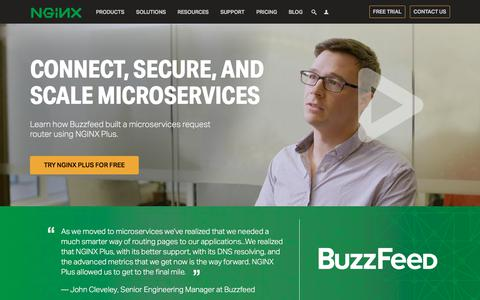 Scalable & Secure Microservices with NGINX Plus - NGINX