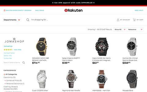 Screenshot of Products Page rakuten.com - Jomashop   Rakuten: products - captured April 22, 2018