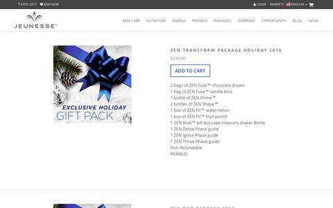 Screenshot of Products Page jeunesseglobal.com - Products | Jeunesse Global - captured Dec. 18, 2016