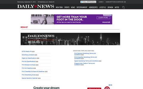 Media Kit - NY Daily News
