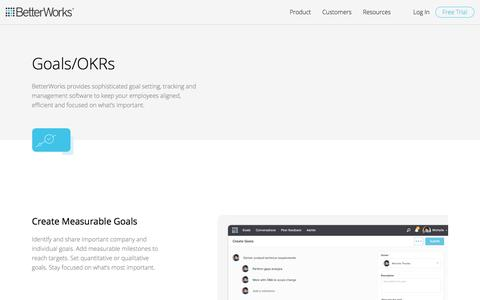 OKR & Goal Setting Software for Employee Engagement & Performance Measurement | BetterWorks