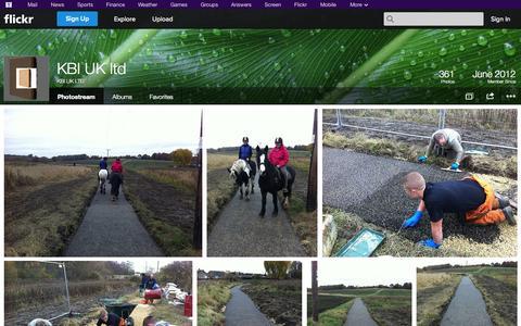Screenshot of Flickr Page flickr.com - Flickr: KBI UK LTD's Photostream - captured Oct. 23, 2014