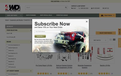 Direct FitSuspension Lift Kits | 4WD.com