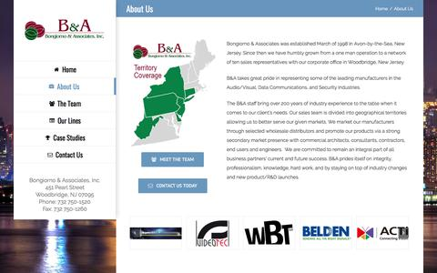 Screenshot of About Page bna-rep.com - About Us – BNA-REP.com - captured Oct. 10, 2017