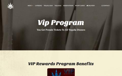 Screenshot of Signup Page lapencaazul.com - VIP Program - captured Oct. 19, 2016