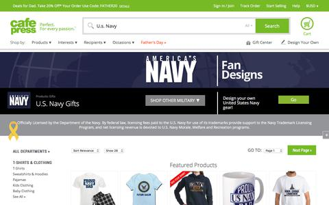 U.S. Navy U.S. NAVY Gifts - CafePress