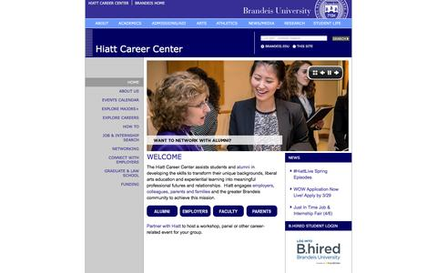 Home | Hiatt Career Center | Brandeis University