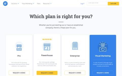 Yotpo Plans & Pricing