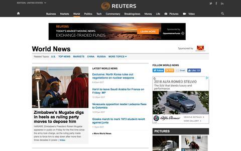 World News | Reuters.com