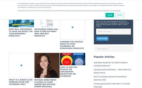 Screenshot of Blog mutesix.com - MuteSix Blog - captured July 14, 2018