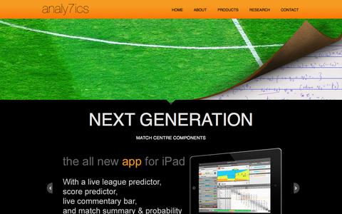 Screenshot of Press Page analy7ics.com - Digital Media Products | analy7ics - captured Sept. 30, 2014