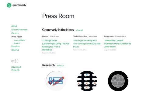 Press Room | Grammarly