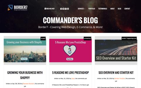 Border7 Studios - E-commerce Experts & Certified Partners