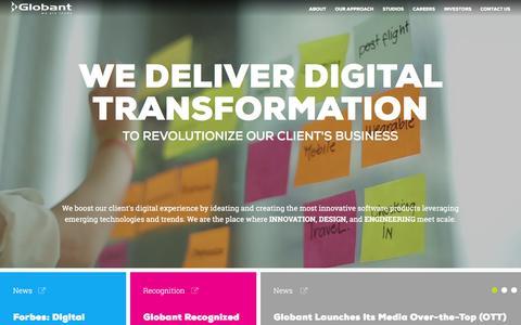 Globant | We Create Digital Journeys