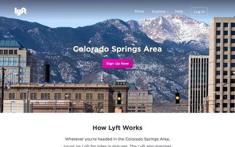 Colorado Springs - Lyft