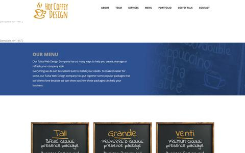 Hot Coffey Design  Tulsa Web Design