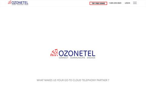 Cloud Telephony Solutions,Call Center Software Solutions-Ozonetel