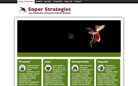 Screenshot of Home Page Privacy Page soperstrategies.com - Soper Strategies - captured Sept. 30, 2014