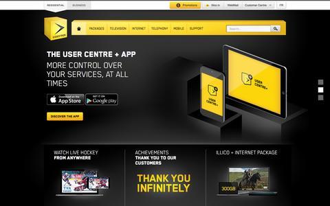 Internet, TV, Mobile Telephony & Residential Telephony | Videotron