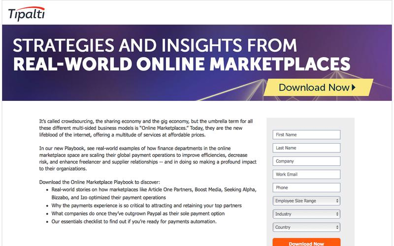 Online Marketplace Playbook