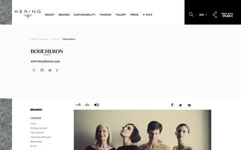 Boucheron | Kering