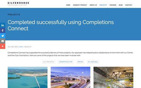Projects • Silverhorse Technologies