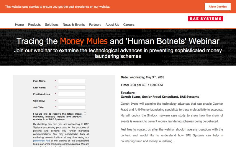Tracing the Money Mules and 'Human Botnets'
