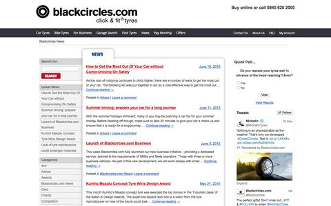 Blackcircles News - Tyre News and Industry Comment