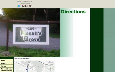 Screenshot of Maps & Directions Page mosallsgrove.com - Directions - captured Dec. 22, 2016