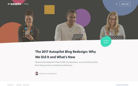 Growth, automation and lead nurturing best practices | Autopilot Marketing Blog