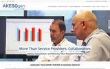 New Screenshot AKESOgen, Inc. Home Page